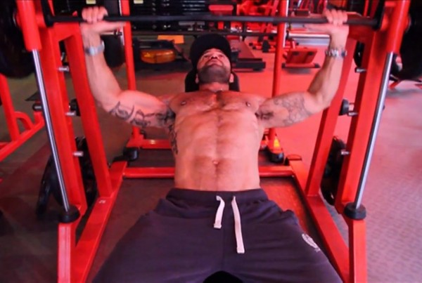 rogan richards chest workout